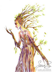 Dryad by thedreamflier