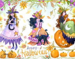 Happy Meoween by thedreamflier