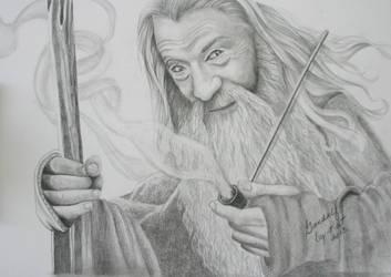 Gandalf by KatLEwing