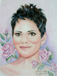 Halle Berry by KatLEwing
