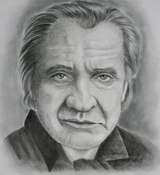 Johnny Cash by KatLEwing