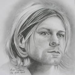 Kurt Cobain by KatLEwing