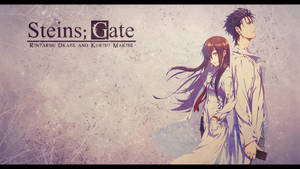 Steins Gate - Okabe and Makise Wallpaper by eaZyHD