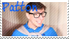 Sanders Sides Patton stamp by GayAndroidBoi