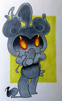 Marshadow by domino626