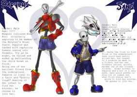 Fanart: Kingdomtale - Skeleton Bros. by Phi-9009