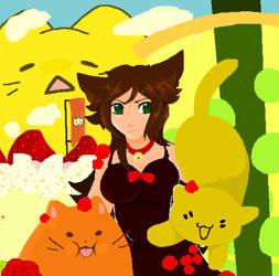 Pixel cat by ani-chan55