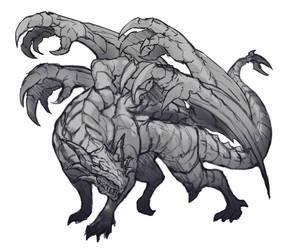Dragon of Acadia concept Ada by gborja357