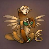 Cutie Sphinx by Flying-Fox