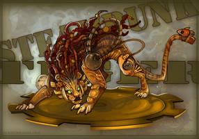 Steampunk TIGER by Flying-Fox