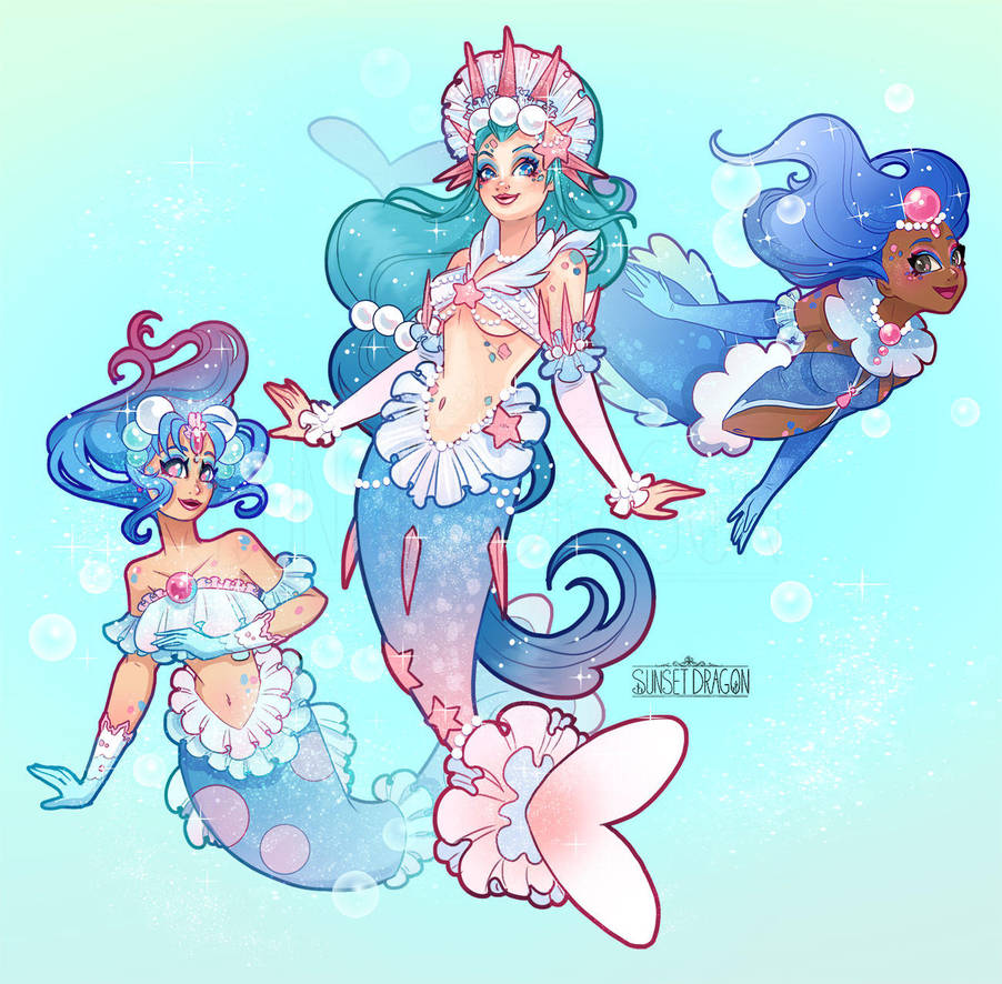 Popplio Brionne And Primarina By Flying Fox On Deviantart