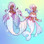 Seel and Dewgong by Flying-Fox