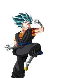 vegetto DBH SSJ blue by dantArte