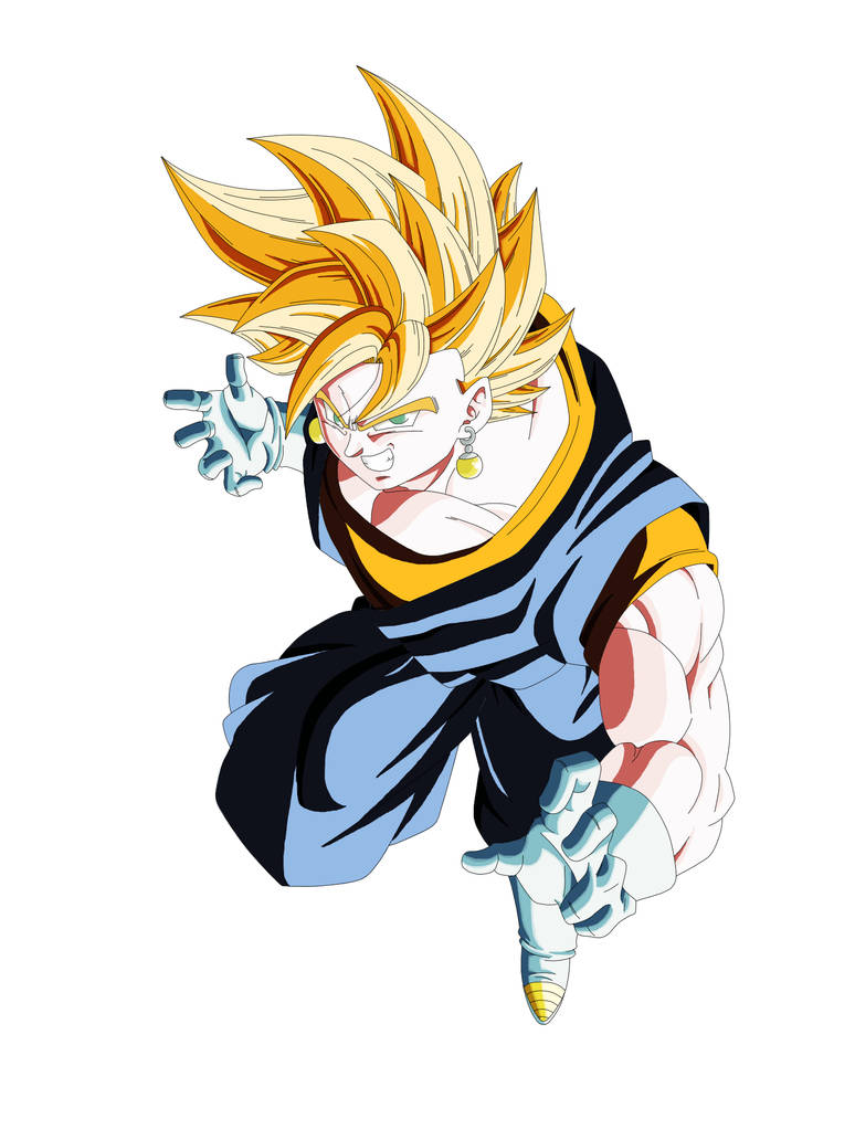 Vegetto ssj  by dantArte