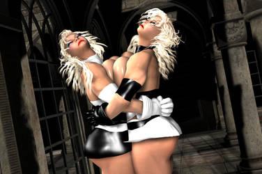 Twin Titsquishing! by EdgarSlam