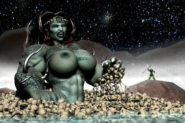Tyranta, the Colossal Sabastian by EdgarSlam