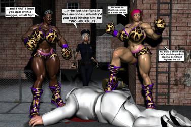 Juggernauts fight Crime! by EdgarSlam