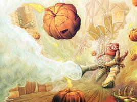 Pumpkin Wars by Telmand