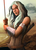 The Witcher: Ciri by Telmand