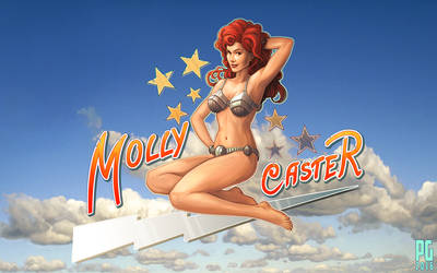 Molly Caster - pinup by Telmand