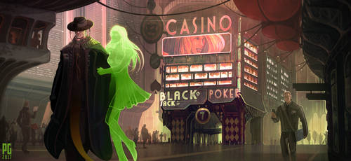 The Grim Gambler by Telmand