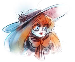 Doll by MagicBunnyArt