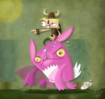 Bunzerker by FLUMPCOMIX