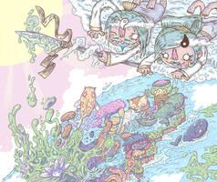 CHEEKY KOJIKI - IZANAGI STIRS IT UP by FLUMPCOMIX