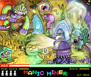 MANIC MINER by FLUMPCOMIX