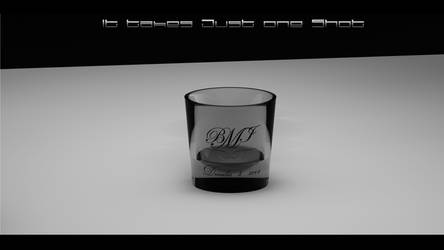 shot glass white by RenegadeGraphix