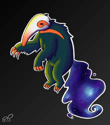 Space Anteater by Pannsie
