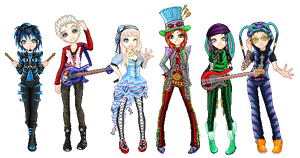 The hottest band this side of Wonderland by bcboo