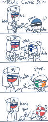 Redoing countryballs comic into countryhumans 2 by CherryMikel