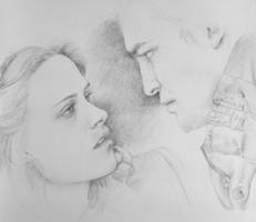 Bella and Edward by hpyro