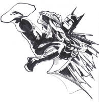 batman marker practice by johnercek