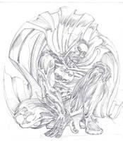batman pencils by johnercek