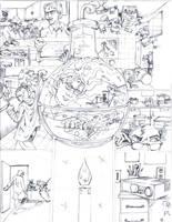 Spiderman vs tinkerer page by johnercek