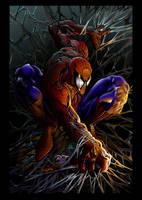 Amazing Spiderman by johnercek