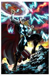Thor by V K Marion inks by devgear by johnercek
