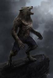 werewolf by wert23