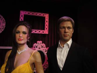 Brad and Angelina by shanikan5