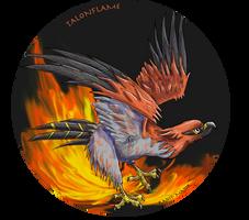 FIRE BURD by Kosmotiel