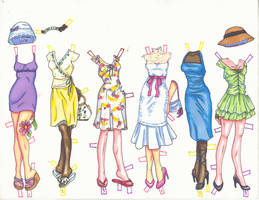 Spring Clothes by kimchi