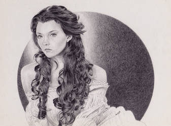 Natalie Dormer as Anne Boleyn by Cavetroll1