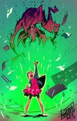 Stranger powers,stranger monsters by BOTAGAINSTHUMANITY