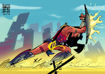 Wonder Woman by BOTAGAINSTHUMANITY
