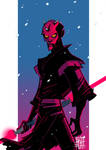 DARTH MAUL by BOTAGAINSTHUMANITY