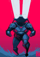 Black Manta by BOTAGAINSTHUMANITY