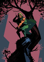 Green Arrow by BOTAGAINSTHUMANITY