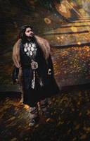 Thorin  Oakenshield - The Hobbit by Kibamarta